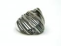 Inel argint rodiat cu zirconii