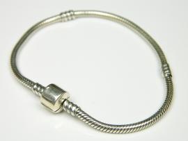 Bratara argint pentru charm-uri, 20 mm