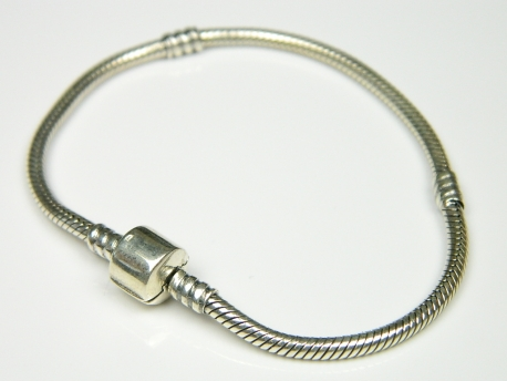 Bratara argint pentru charm-uri, 18 mm
