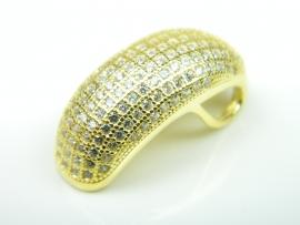 Pandantiv argint aurit, zirconii