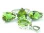 Set bijuterii argint rodiat, aspect aur alb, patru piese, zultanit