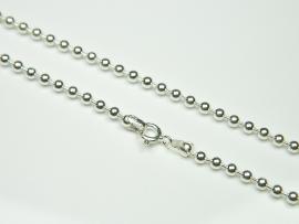 Lantisor argint, 49 cm