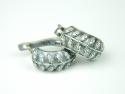 Cercei argint cu zirconii