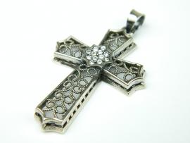 Pandantiv argint cu zirconii