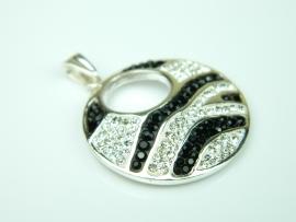 Pandantiv argint, zirconii