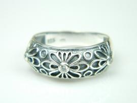 Inel argint cu zirconia