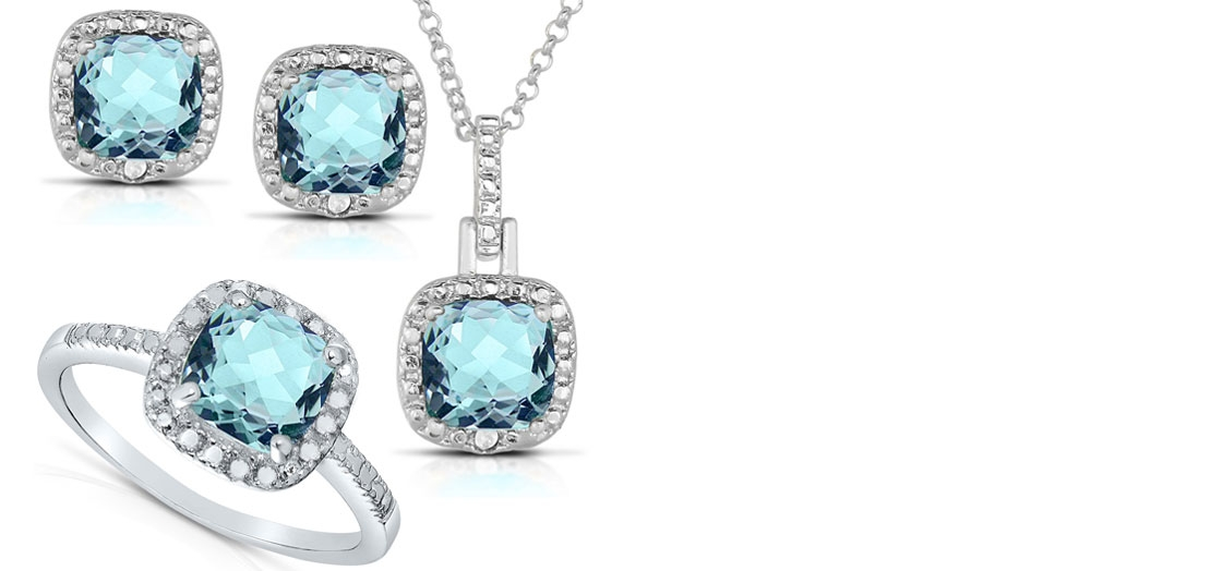 Seturi de bijuterii din argint